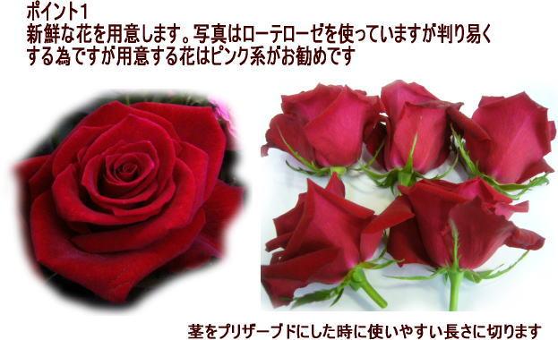 ローテローゼ生花