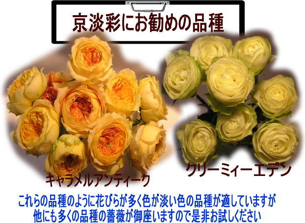 ホワイトニング剤に適した花